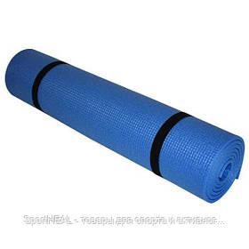 Коврик для фитнеса Champion 1800х600х5 синий