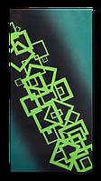 """Металокерамічний дизайн-обігрівач UDEN-S """"Квадро"""", фото 1"""