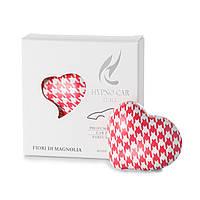 Парфюм для авто Сердце - розовый принт, аромат F.MAGNOLIA Hypno Casa