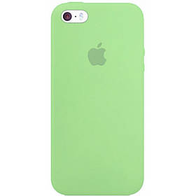 Apple Silicon Case for iphone 5/5S/SE Green