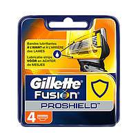 Лезвия Gillette Fusion Proshield упаковка 4 шт