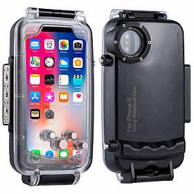 Підводний бокс Haweel HWL-2505B для Apple iPhone X / XS - Black