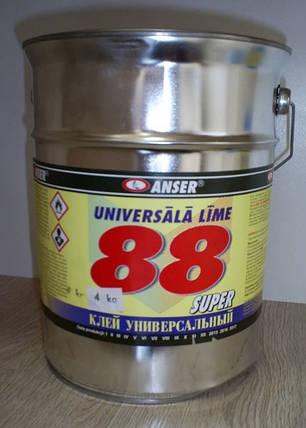 Клей 88 универсальный ANSER 4 кг, фото 2