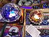 Светодиодный Диско Шар Mp3 led Bluetooth magic ball light + пульт, флешка, фото 4
