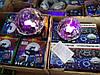 Светодиодный Диско Шар Mp3 led Bluetooth magic ball light + пульт, флешка, фото 5