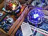 Светодиодный Диско Шар Mp3 led Bluetooth magic ball light + пульт, флешка, фото 6