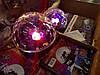 Светодиодный Диско Шар Mp3 led Bluetooth magic ball light + пульт, флешка, фото 7