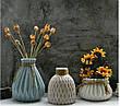 Ваза керамическая небольшая для цветов или декора 11,5*11,5*13 см Алхимия (MC 2804-13), фото 3