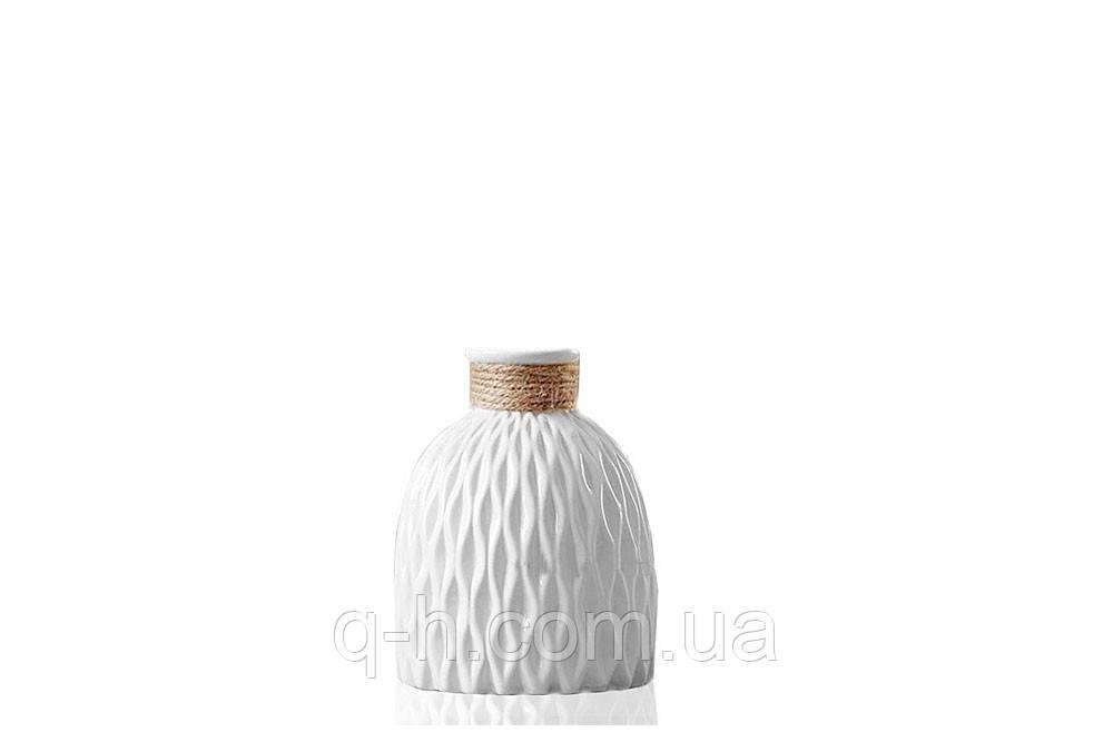 Ваза керамическая небольшая для цветов или декора 11,5*11,5*13 см Алхимия (MC 2804-13)