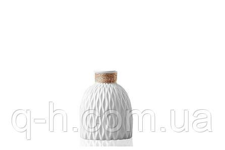 Ваза керамическая небольшая для цветов или декора 11,5*11,5*13 см Алхимия (MC 2804-13), фото 2