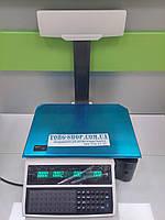 Весы с печатью этикетки DIGI SM-100 P однострочный индикатор (RS232, Ethernet), фото 1