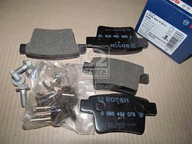 Тормозные колодки (производитель Bosch) 0 986 494 076