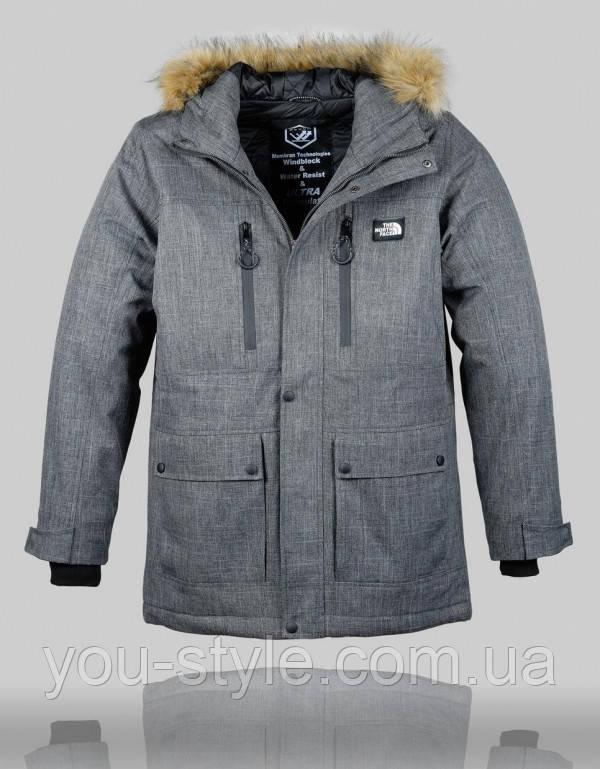 Куртка зимняя The North Face Extreme 4997 Тёмно-серая