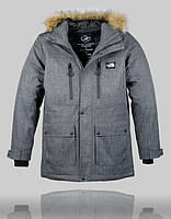 Куртка зимняя The North Face Extreme 4997 Тёмно-серая, фото 1