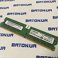Оперативная память Micron DDR2 2Gb 667MHz PC2 5300U CL5 Б/У, фото 1