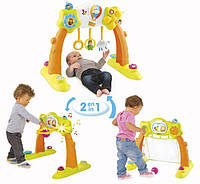 110221 Ігровий центр Cotoons Акра розваг: турнікет, ворота, кільце, 3 міс.+