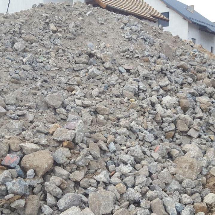 Продажа дробленого бетона цементный раствор для пруда