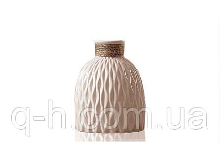 Ваза из керамики для цветов или декора 13,5*13,5*18 см Алхимия (MC 2804-18), фото 2