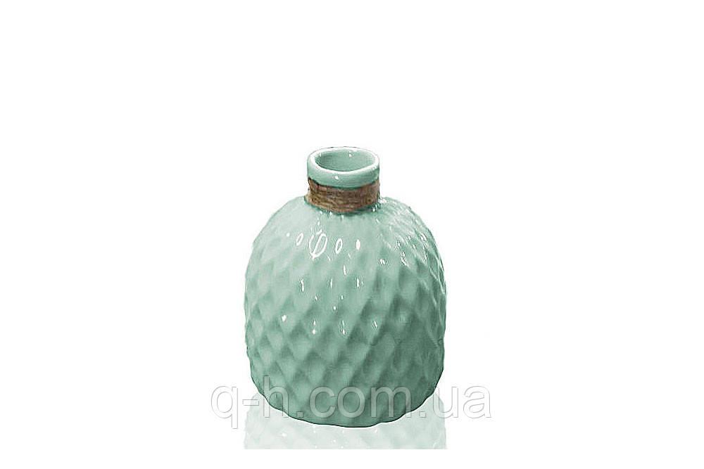 Цветочная ваза из керамики для цветов или декора 13,5*13,5*18 см Алхимия (MC 2803-18)