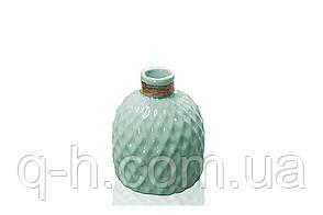Цветочная ваза из керамики для цветов или декора 13,5*13,5*18 см Алхимия (MC 2803-18), фото 2