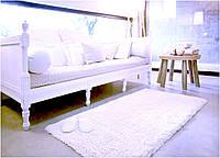 Килимок з шовком 50х80 Shag Abyss & Habidecor V100 білий, фото 1