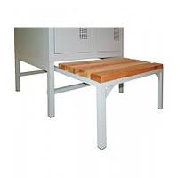 Скамейка для одежного шкафа выдвижная СГ-600, h370х600х800мм
