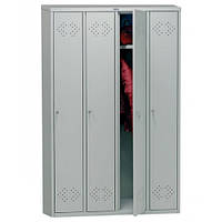 Одежный металлический шкаф Locker 41 New, h1830х1130х500