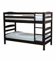 Двоярусне ліжко в дитячу кімнату з натурального дерева Л-303 Скіф, фото 1