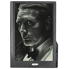 """★Графический планшет Lesko LCD Writing Tablet 10"""" business Black с стилусом в комплекте для рисования"""