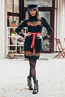 Платье женское вязаное в расцветках  25999, фото 1