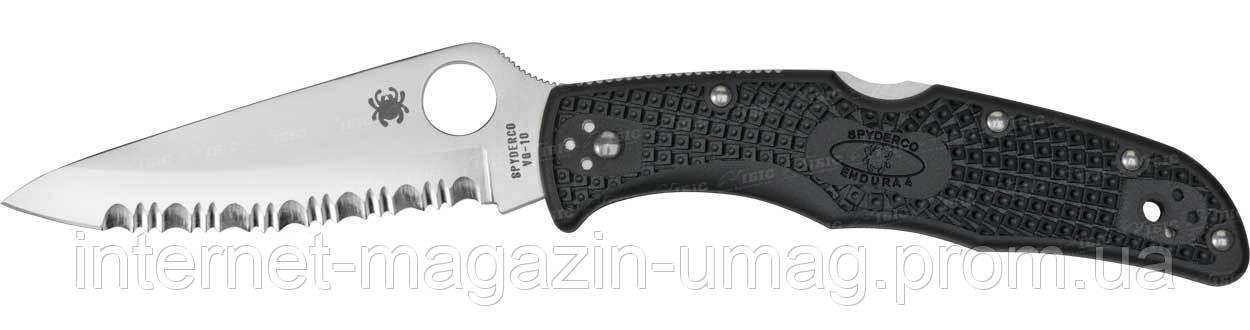 Нож Spyderco Endura 4, серрейтор