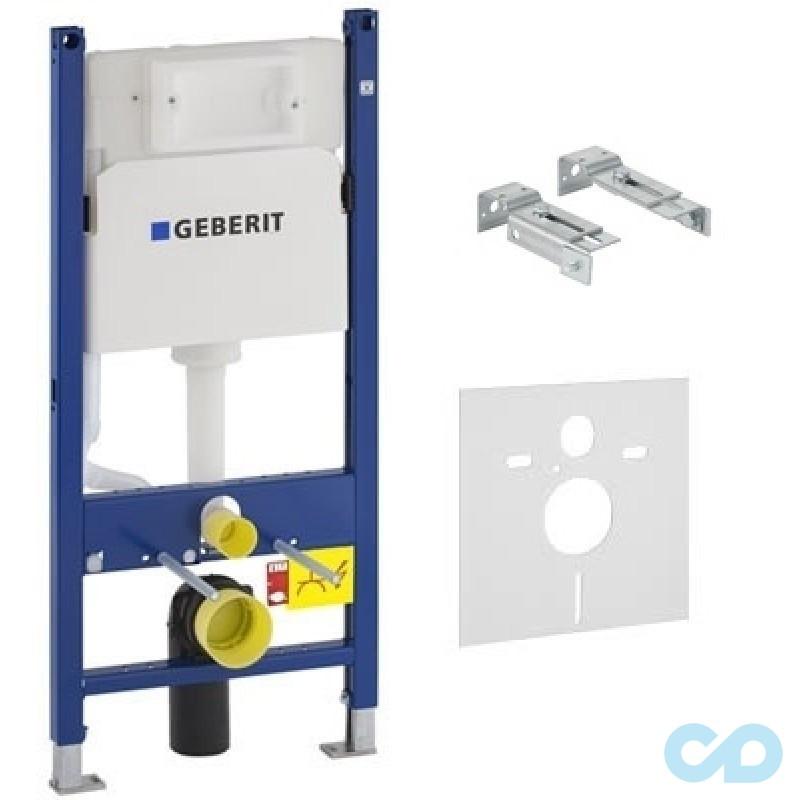 GEBERIT 458.126.00.1  Duofix монтажный комплект для подвесного унитаза, Н112, 12 см(UP100)  без клав