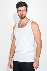 Майка мужская однотонная, светлая 62P001 (Белый)