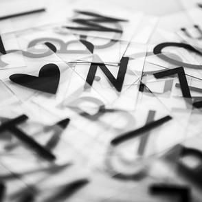 Дополнительный набор букв для лайтбокса, фото 2