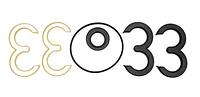 Ремкомплект насоса шестеренного НШ 32Д (с пластм. обоймой)