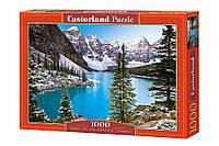 """Пазлы Castorland 1000 элементов - """"Скалистые горы. Канада"""". Быстрая доставка. Производство Польша."""