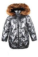 Куртка зимняя для девочки Deloras 29931-1  (р.134-158)