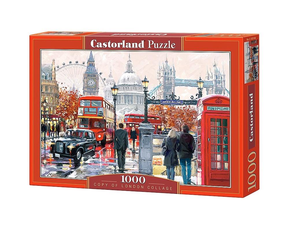 """Пазлы Castorland C-103140 """"Коллаж Лондон"""" на 1000 элементов (C-103140)"""