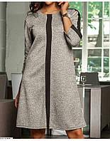 Платье женское трапеция в расцветках  26004, фото 1