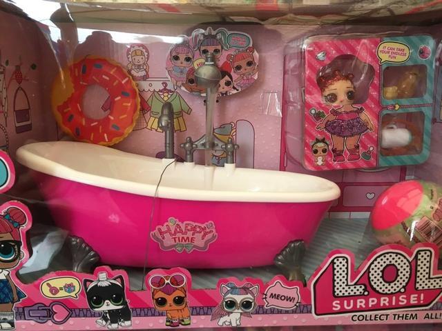 Кукла ЛОЛ ванная комната 923