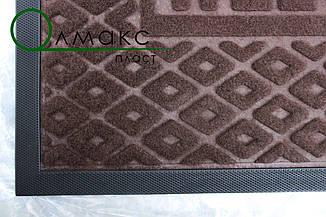 Придверный коврик с рельефным рисунком  40*60 см, фото 2