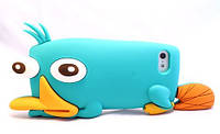 Чехол Custom Cover Silicone Figure for iPhone  5