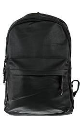 Рюкзак однотонный, минималистичный дизайн 264V003 (Черный)