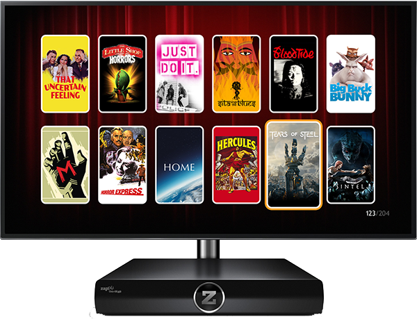 Zappiti One 4K HDRAndroid TV медиаплеер