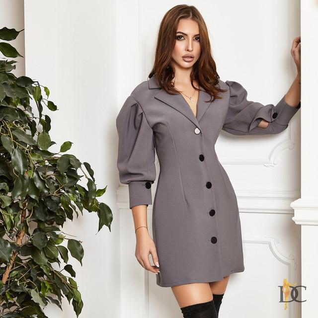 d04af0990ec050b Материал платья: костюмная ткань класса люкс. Длина изделия 84 см. Длина  рукава 48 см. Размер С и М Большой размер под заказ до 48