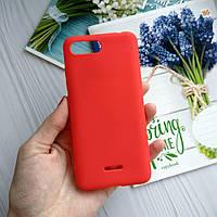 Чехол  Xiaomi Redmi 6A силиконовый Красный