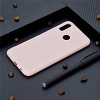 Чехол Style для Huawei P Smart Plus / INE-LX1 Бампер силиконовый розовый