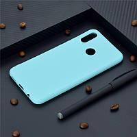 Чехол Style для Huawei P Smart Plus / INE-LX1 Бампер силиконовый бирюзовый