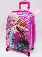 """Детский чемодан дорожный """"Frozen-4"""", Холодное сердце на четырех колесах 520278"""