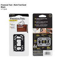Financial Tool мультиинструмент в виде кредитки, Black